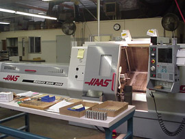 Hall Machine Precision Machining Haas Lathe
